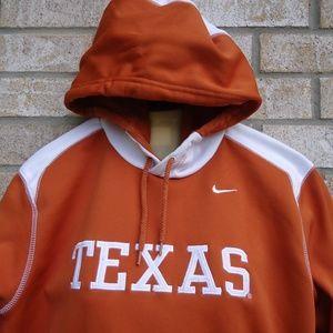 Size L Nike Team Texas Longhorns Hoodie.